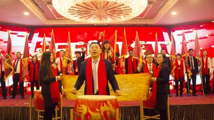 《舞动中华 鼓动随心》大型中国鼓团建